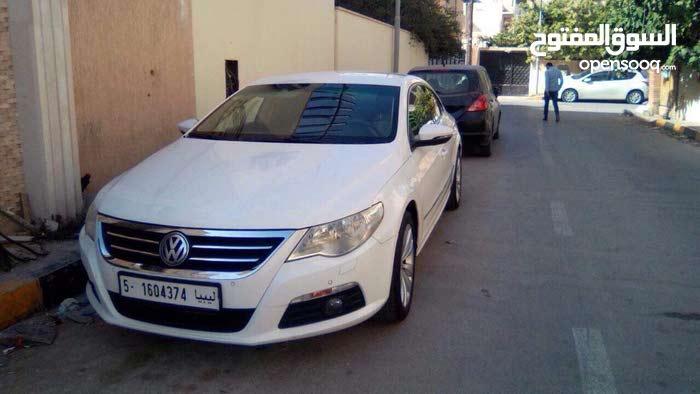 White Volkswagen CC 2010 for sale