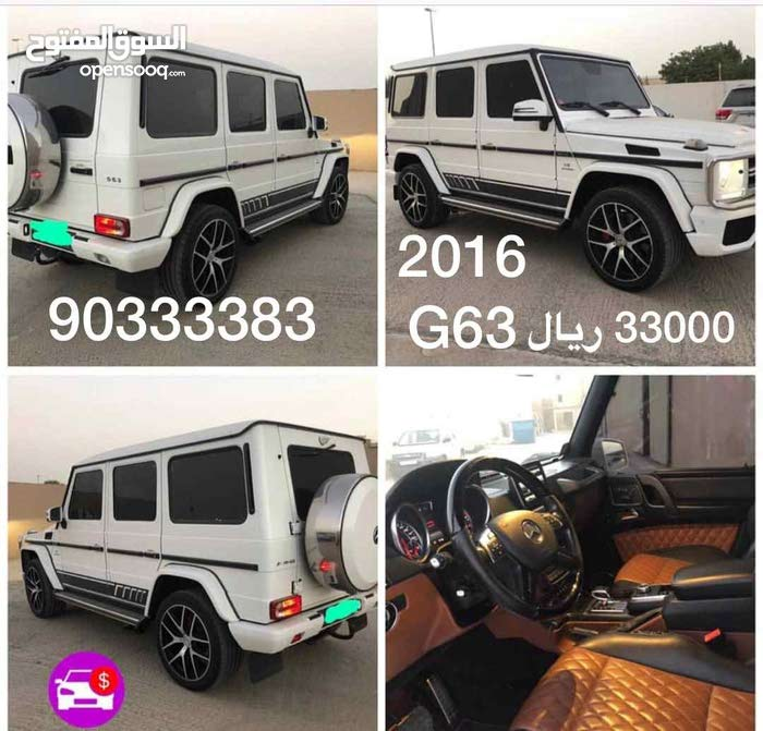 Mercedes Benz G 63 AMG car for sale 2016 in Muscat city