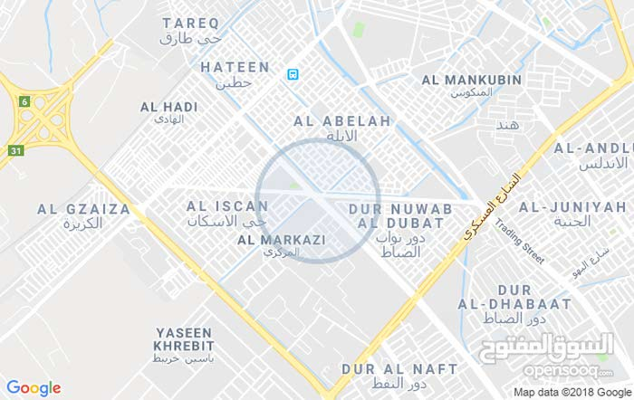 بيت للبيع تجاوز في منطقة حي الاحرار قرب أربع شوارع مقابل نادي النفط الثقافي قريب