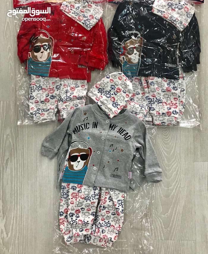 ملابس أطفال للبيع ثلاث قطع بالجملة بــ16.5