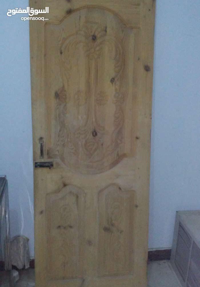 بابيبن من خشب السويدي محفورين زخرفه