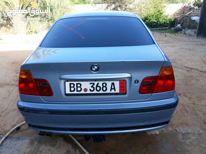 Blue BMW 323 2002 for sale