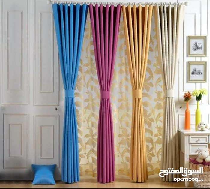 For sale New Curtains with special specs and additions
