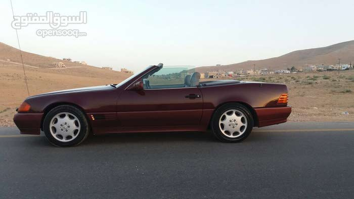 Automatic Maroon Mercedes Benz 1993 for sale