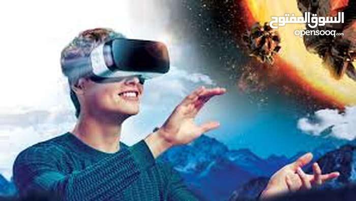 نظارة الواقع الافتراضي VR للالعاب و التعليم و التسلية