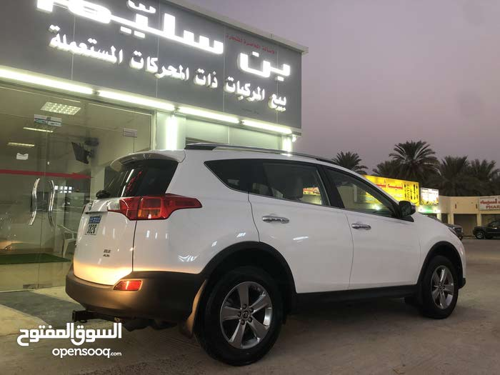 Used condition Toyota RAV 4 2015 with 0 km mileage