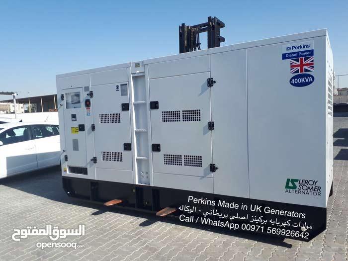 400KVA Made in USA Perkins Generators 2018- مولدات كهربايه