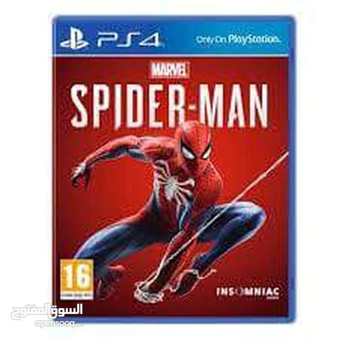 دسكة spider man الأخيرة عربية شبه جديدة للبيع فقط لأعلى سعر