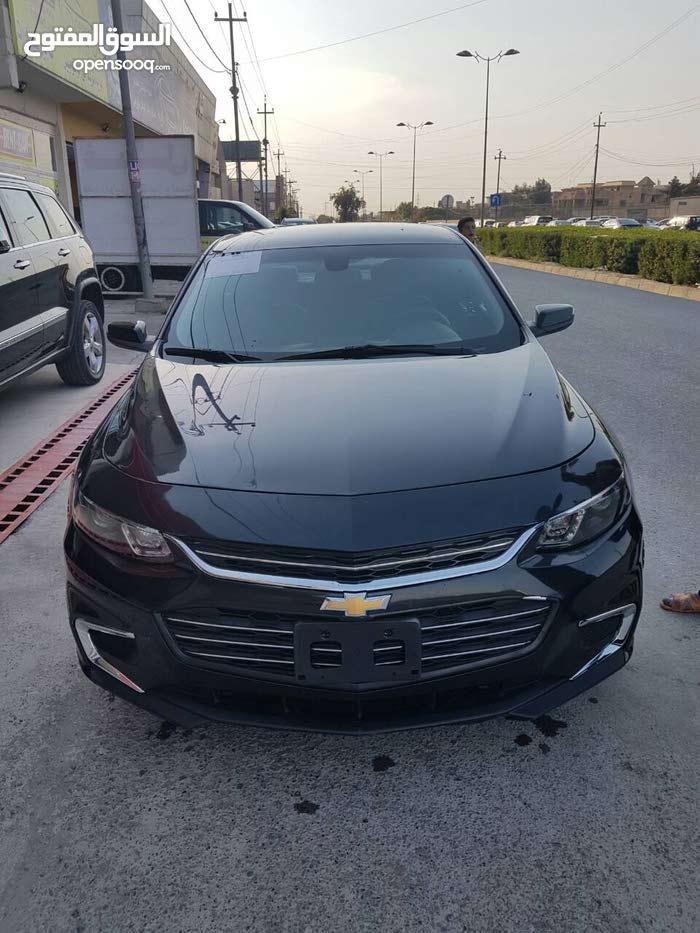 Chevrolet Malibu 2016 For sale - Black color