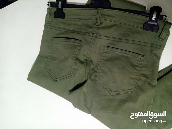 pantalon vert millitaire