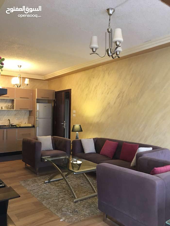 شقة مفروشة غرفة وصالة مع ترسات في عبدون