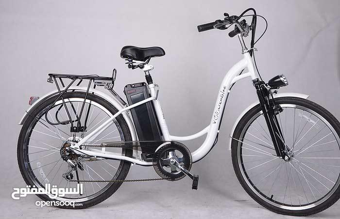 دراجه هوائية جديده على الكهرباء