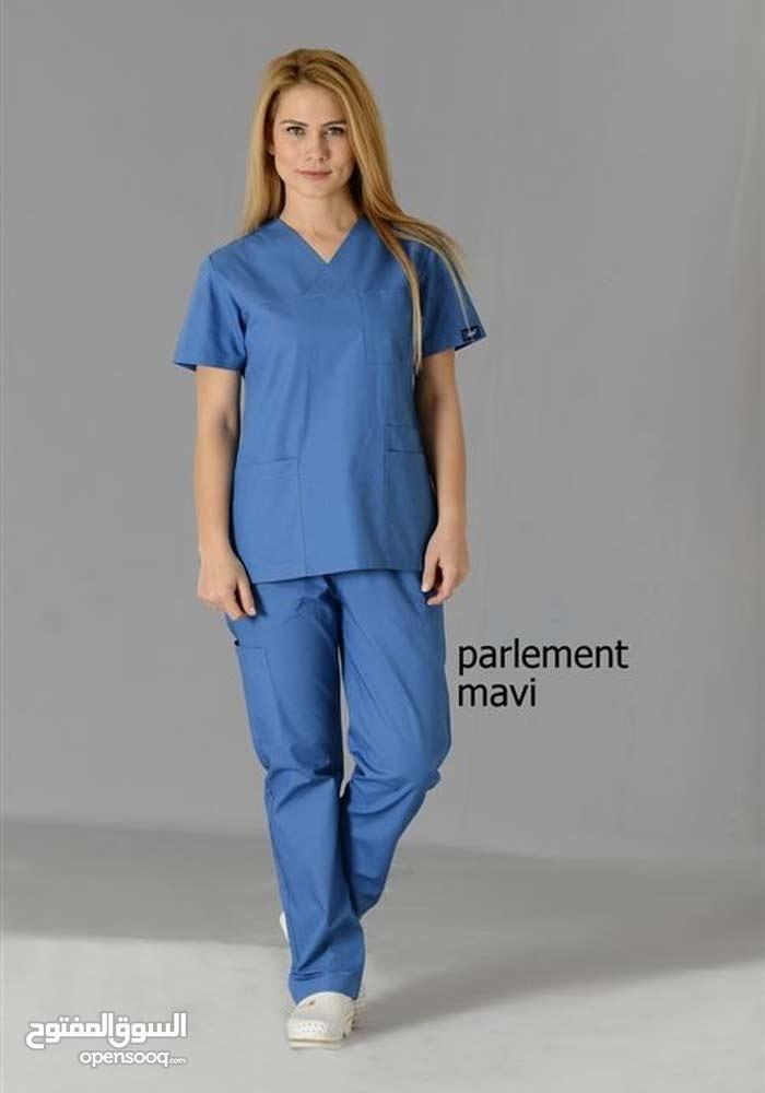 بدلات / بدلة / بدله  عمليات للطاقم الطبي ازرق
