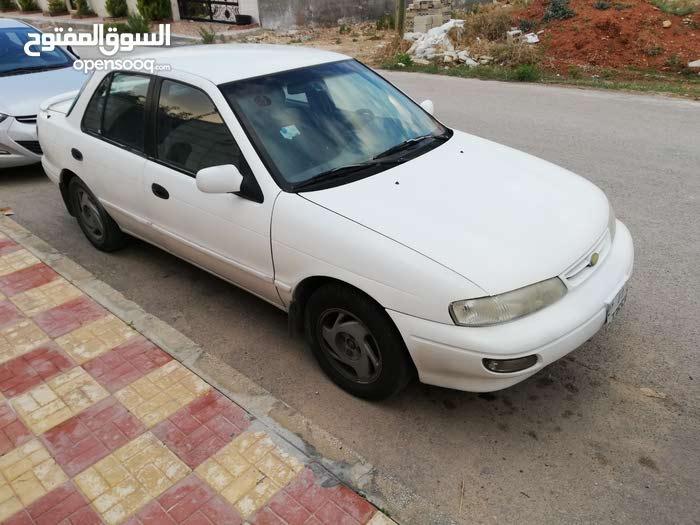 White Kia Sephia 1995 for sale