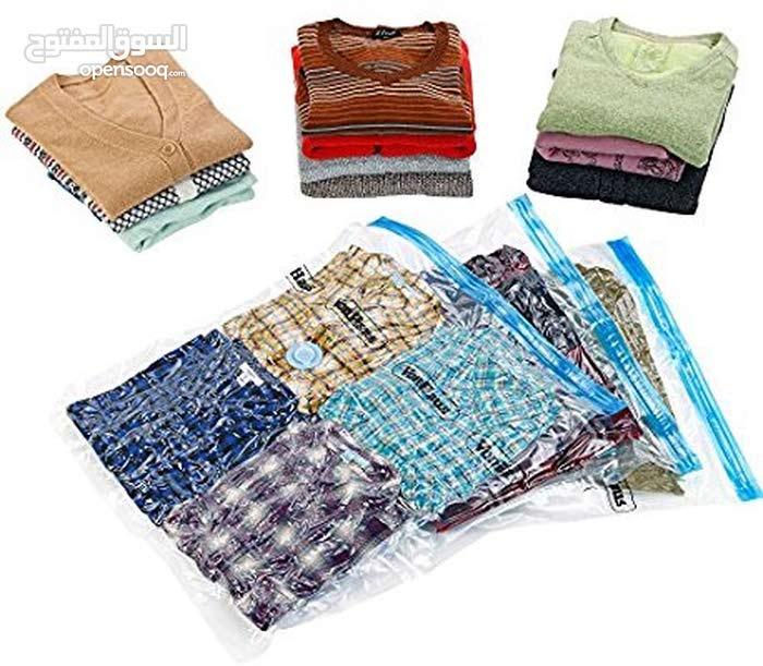 الأكياس المضغوطة لحفظ الملابس الصيفيه بعيدا عن العفن والرطوبه