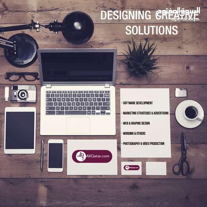 خبراء ديزاين و برمجة و تسويق