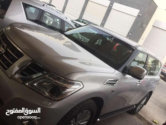 Nissan Patrol 2017 For sale - Silver color