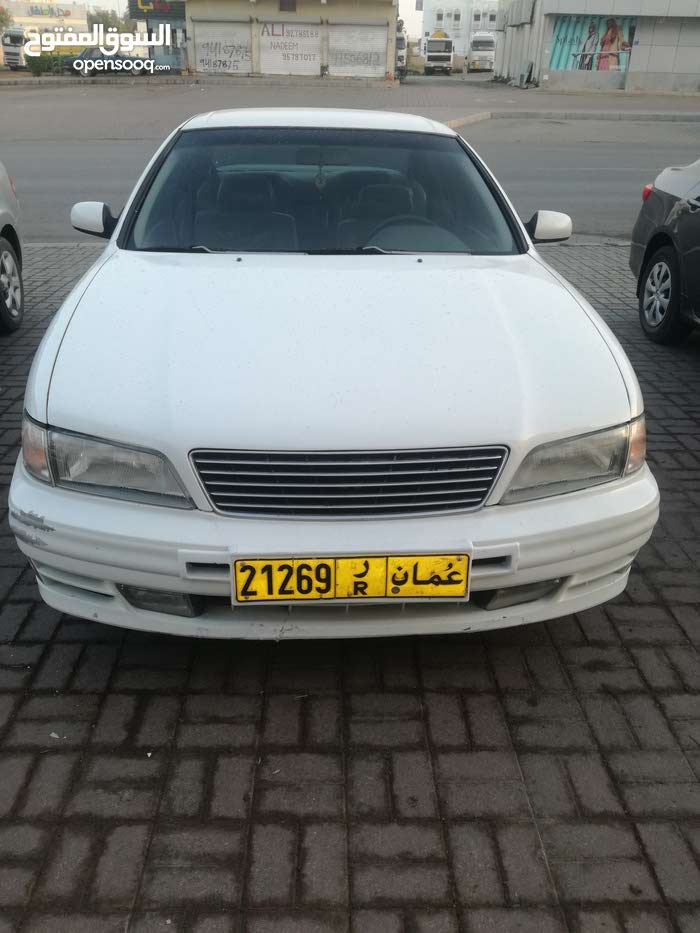 White Nissan Maxima 1998 for sale