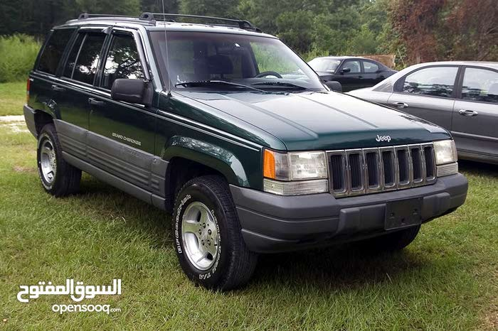 Jeep Grand Cherokee car for sale 1996 in Al-Khums city