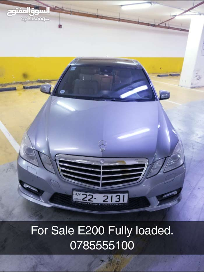 E200 CGI 2010 FULLY LOADED