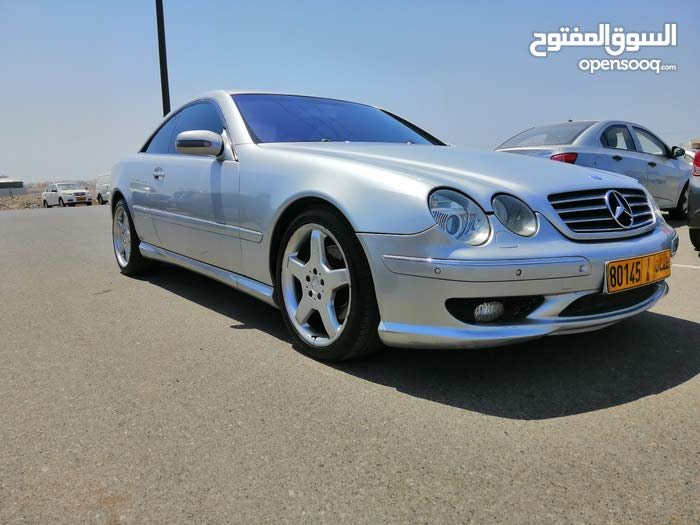 For sale 2001 Silver CL 500 - (109095357) | Opensooq