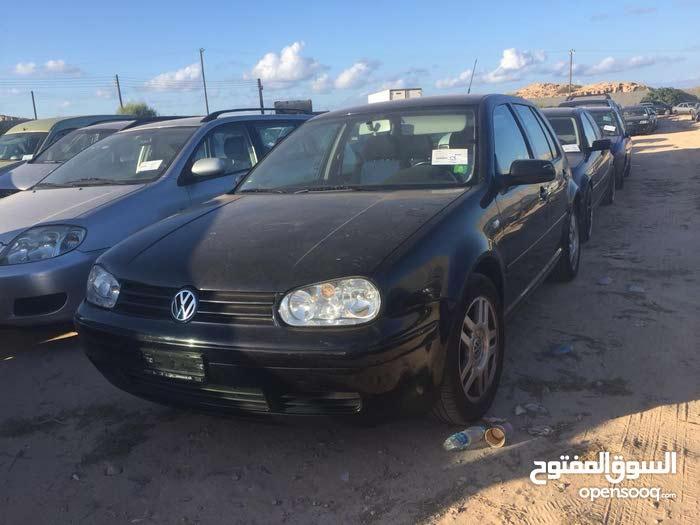 Volkswagen Golf car for sale 1999 in Misrata city