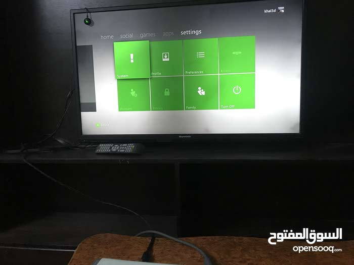 Zarqa - There's a Xbox 360 device in a Used condition