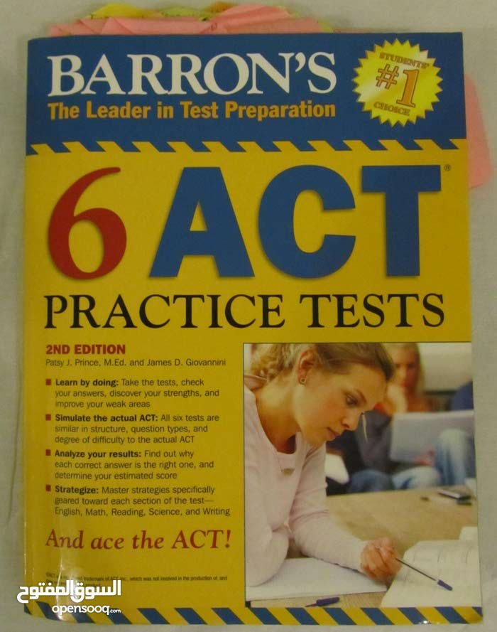 SAT, ACT General, Maths and Chemistry Testbooks