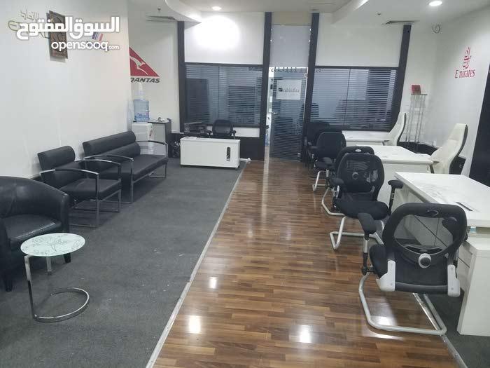 مكتب مميز اول ساكن بحاله جيده للايجار