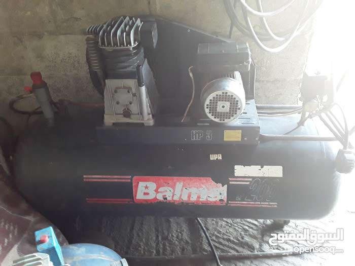 معدات بنشر ومغسل مستعملة للبيع