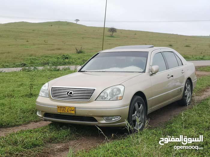 +200,000 km Lexus LS 2001 for sale