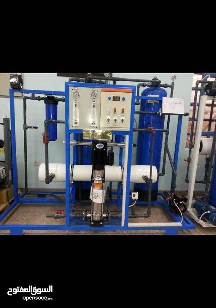 محطة ماء ارو مستخدمة 4 اشهر من انتاج شركة اليمامة لمحطاة التحلية سعة 1000 لتر مكعب بالساعة 30 ورقة