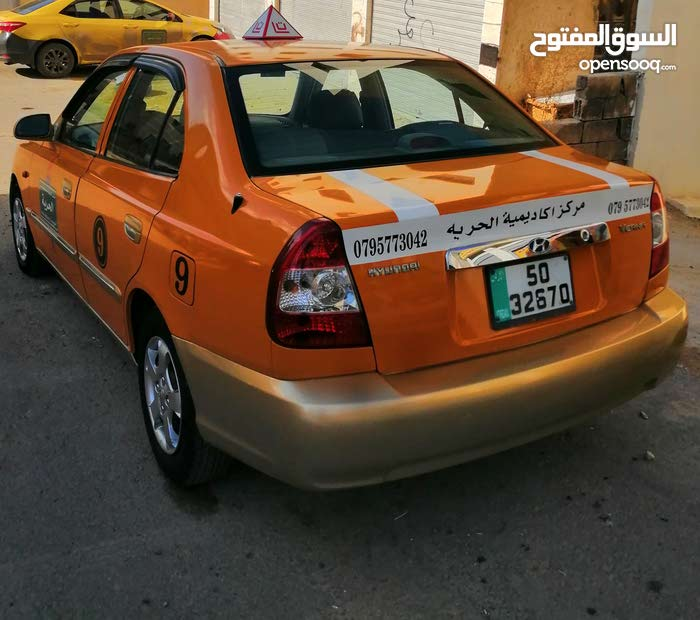 Hyundai Verna car for sale 2012 in Amman city