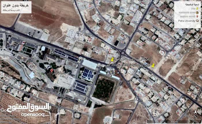 ارض مميزة استثمارية مقابل جامعة البتراء للبيع