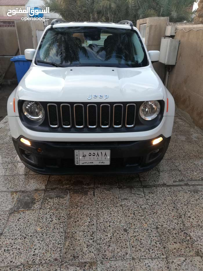 White Jeep Renegade 2016 For