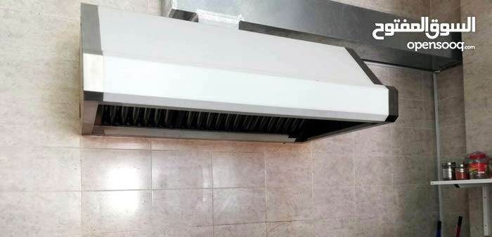 Hood fixing stainless steel tables sinks