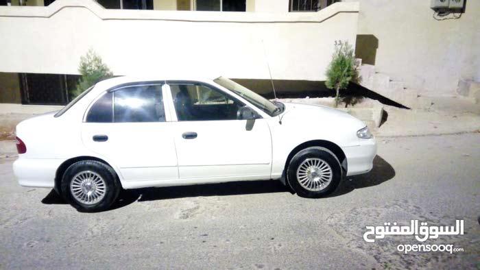 Hyundai Accent 1998 For sale - White color