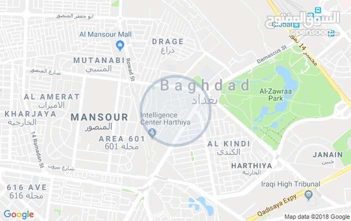 مشتمل هيكل طابق واحد مسلح جديد 47م بغداد الجديدة شارع العام