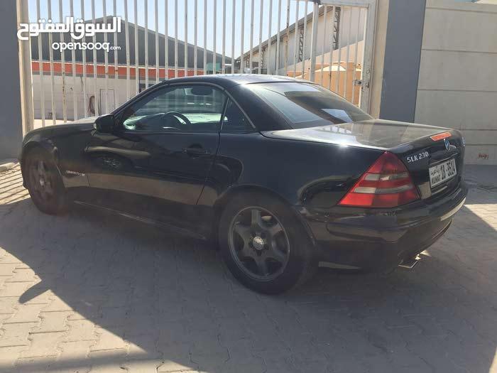 km Mercedes Benz SLK 2001 for sale