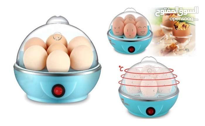 اله سلق البيض والذره  على البخار المنزليه