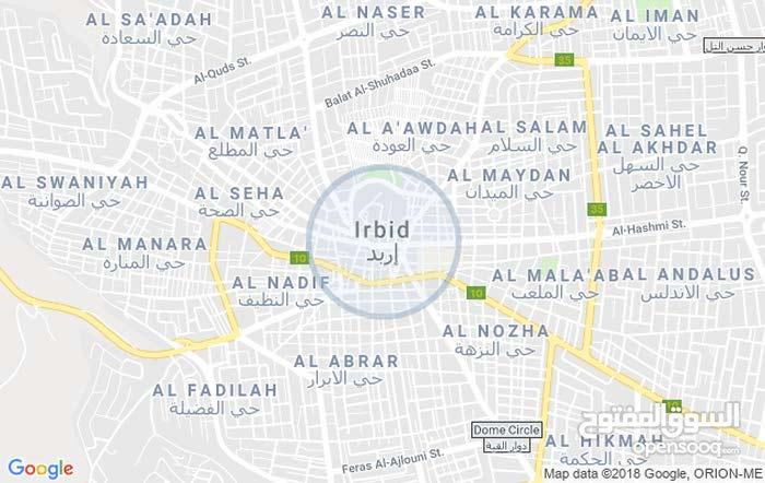 Second Floor  apartment for rent with 3 rooms - Irbid city Isharet Al Iskan