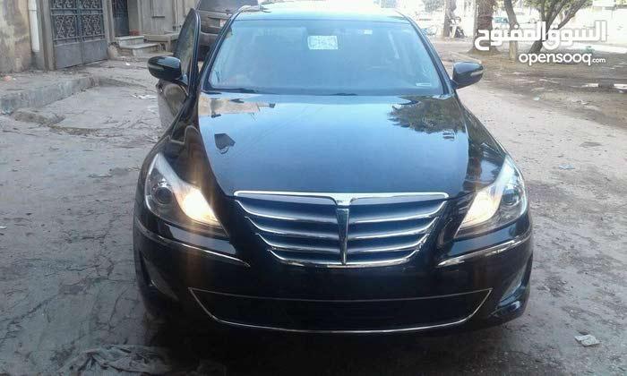 Hyundai Genesis 2013 For sale - Black color