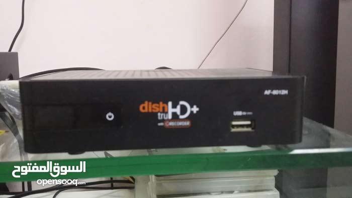 مستعمل نظيف جدا مع جميع الاغراضDISH..TV (HD)