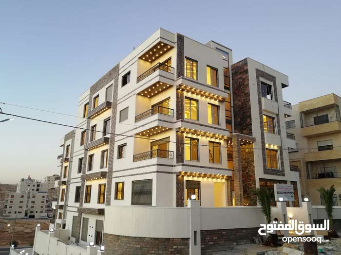 شقة شبه ارضية مع ترس اقساط في شفا بدران ومن المالك مباشرة