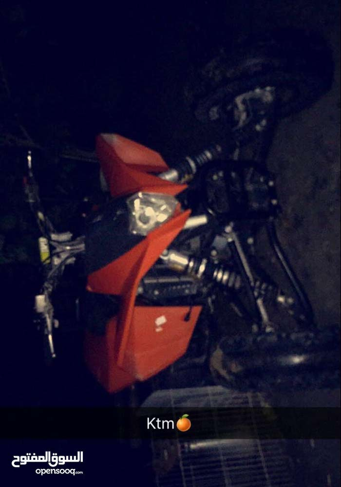 Used KTM motorbike available in Hawally