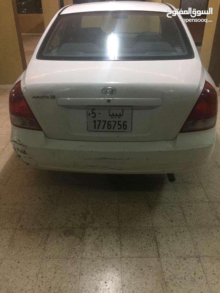 Used condition Hyundai Avante 2003 with +200,000 km mileage