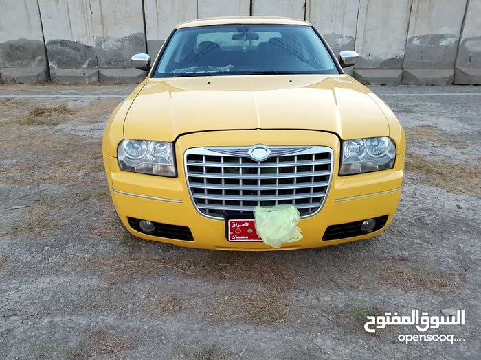 Chrysler 300C 2010 For sale - Yellow color