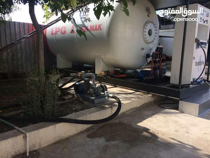 محطة غاز سيارات  واصطونات