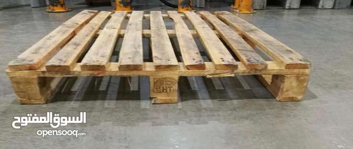 بيع وتوريد طبليات ( طبالي ) خشب مستعملة .