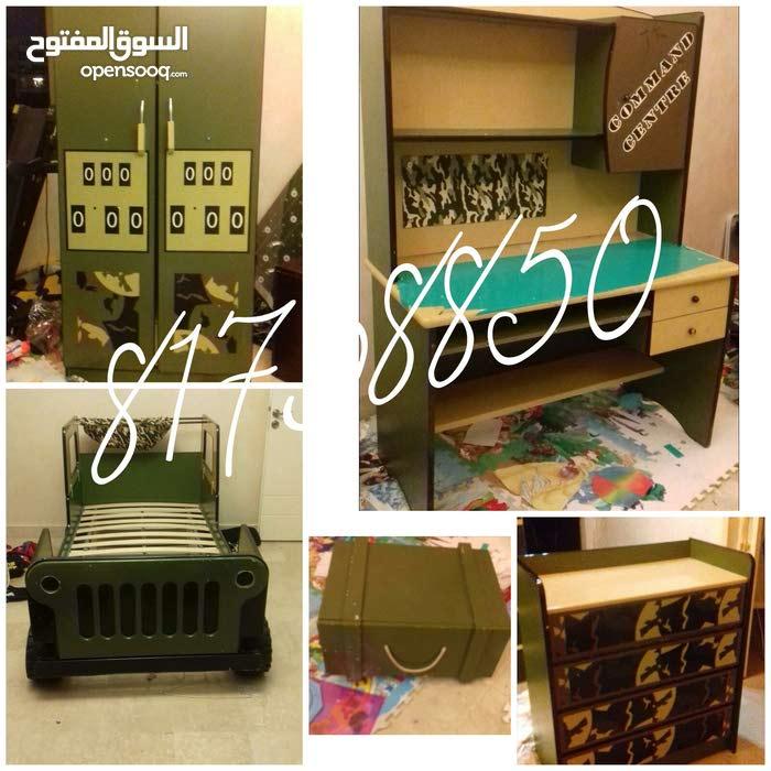 غرفة نوم اطفال عسكرية